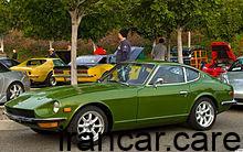 220px 1971 Datsun 240 Z coupe green fvl