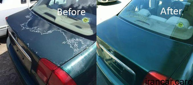 A Simple Diy Operation To Repair Car Paint Oxidation And Faded Paint