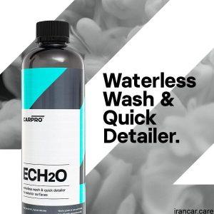 اسپری کارواش بدون آب کارپرو EcH2O نیم لیتری