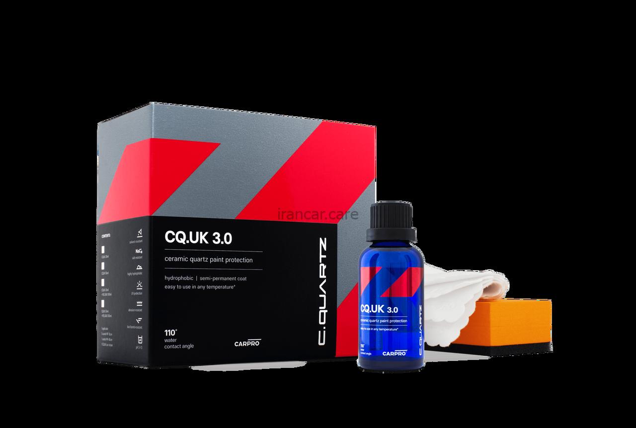 پوشش سرامیکی بدنه کارپرو CQuartz UK 3.0