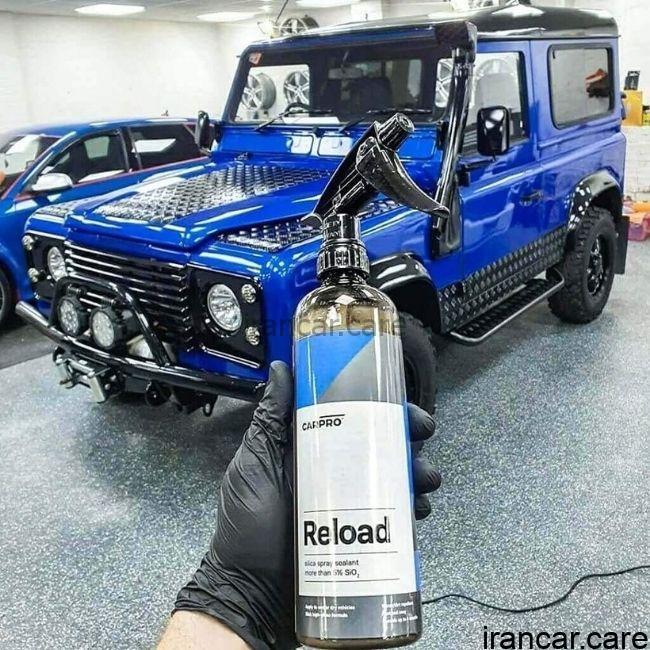 عکس اسپری نانو سرامیک بدنه خودرو کارپرو CARPRO Reload