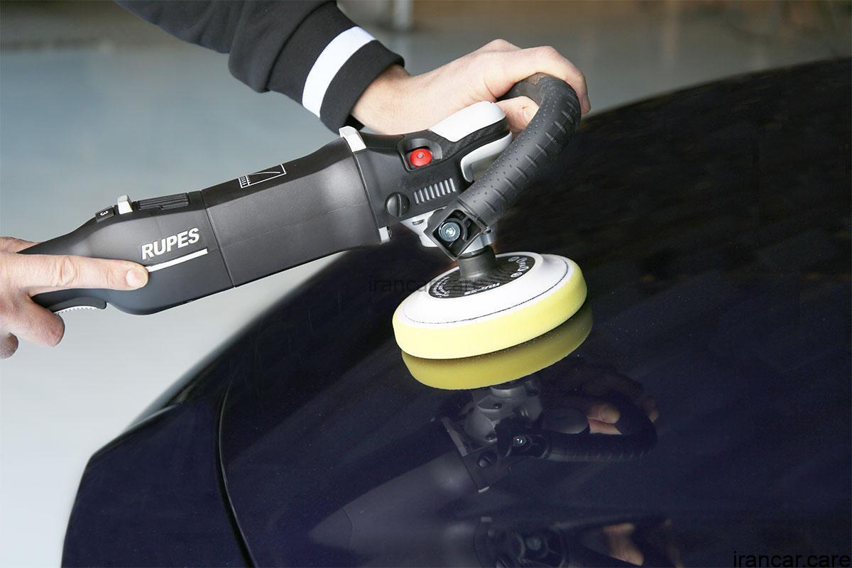 rotary polisher LH19E application کیت کامل دستگاه پولیش روتاری روپس®RUPES مدل LH19E DLX 2