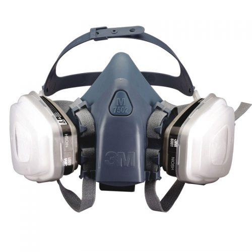 ماسک نیمه صورت 3M 7500 سیلیکون ( فیلتردار)