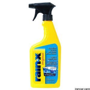 نام کالا: اسپری آبگریز کننده و پاک کننده شیشه RainX