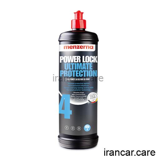 Menzerna Power Lock Ultimate Protection منزرنا 4 پولیش و واکس یک لیتری 1