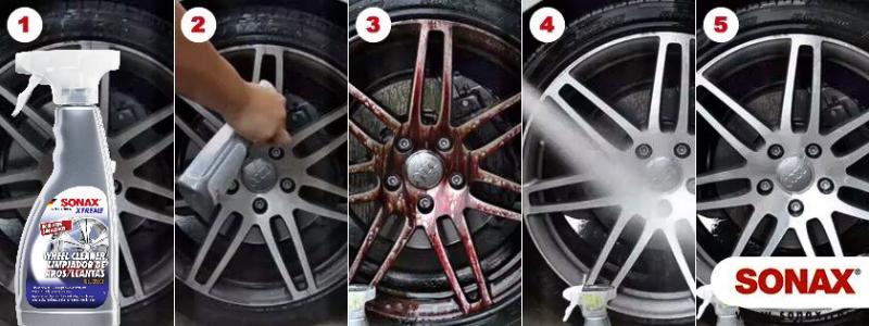 کیت تمیز کننده رینگ خودرو سوناکس اکستریم