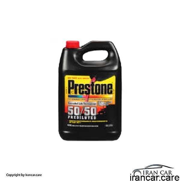 مایع ضد یخ قرمز 50-50 رادیاتور پریستون (Prestone)