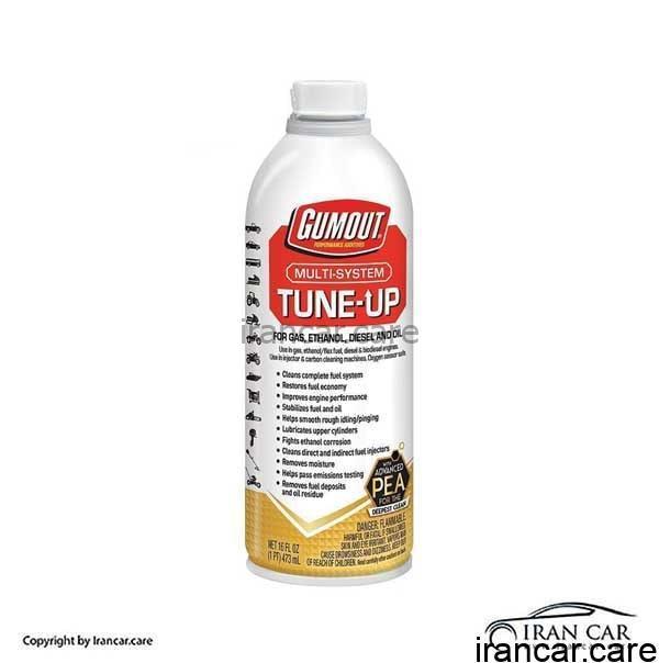 محلول انژکتور شوی تمیز کننده سیستم سوخت TUNE-UP