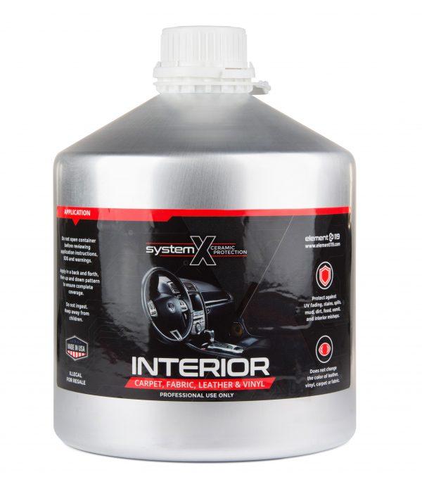 مایع پوشش سرامیکی چرم و پارچه System X Interior