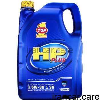 روغن موتور خودرو تاپ وان مدل HP Plus 5W-30