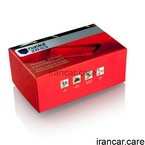 پوشش و محافظت از رنگ سرامیکی ناژول ZR53 اتومبیل نانو