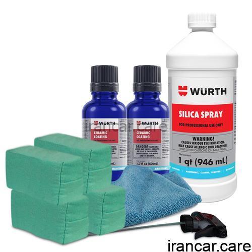 پوشش سرامیکی محافظ رنگ خودرو 9H وورث