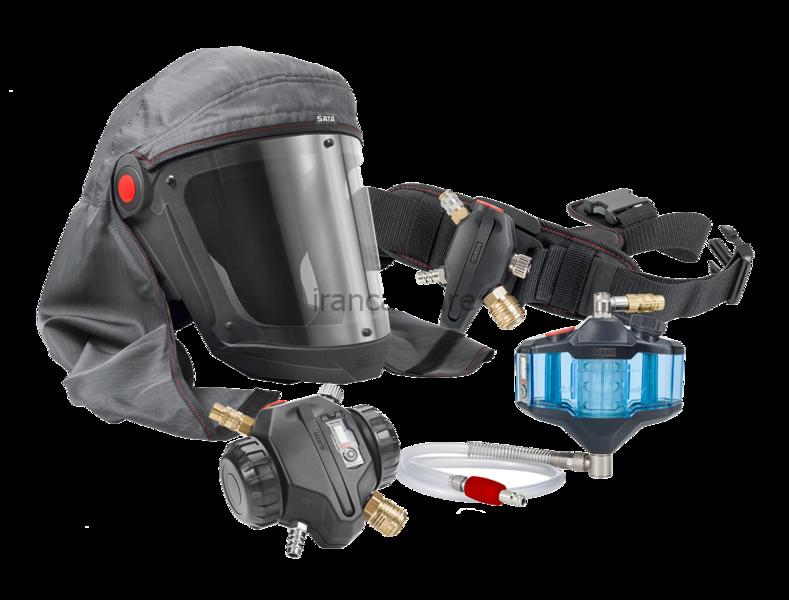 کیت ماسک سیستم هوای تنفسی ساتا 5000 مخصوص پاشش رنگ خودرو
