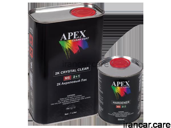 Apex 2k crystal clear کیلر و هاردنر آپکس apex 1