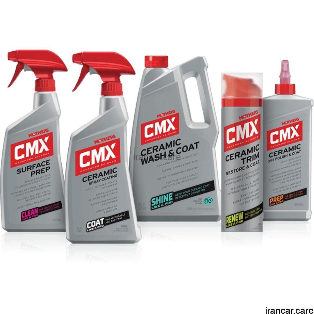 کیت محصولات نانو سرامیک مادرز Mothers CMX®