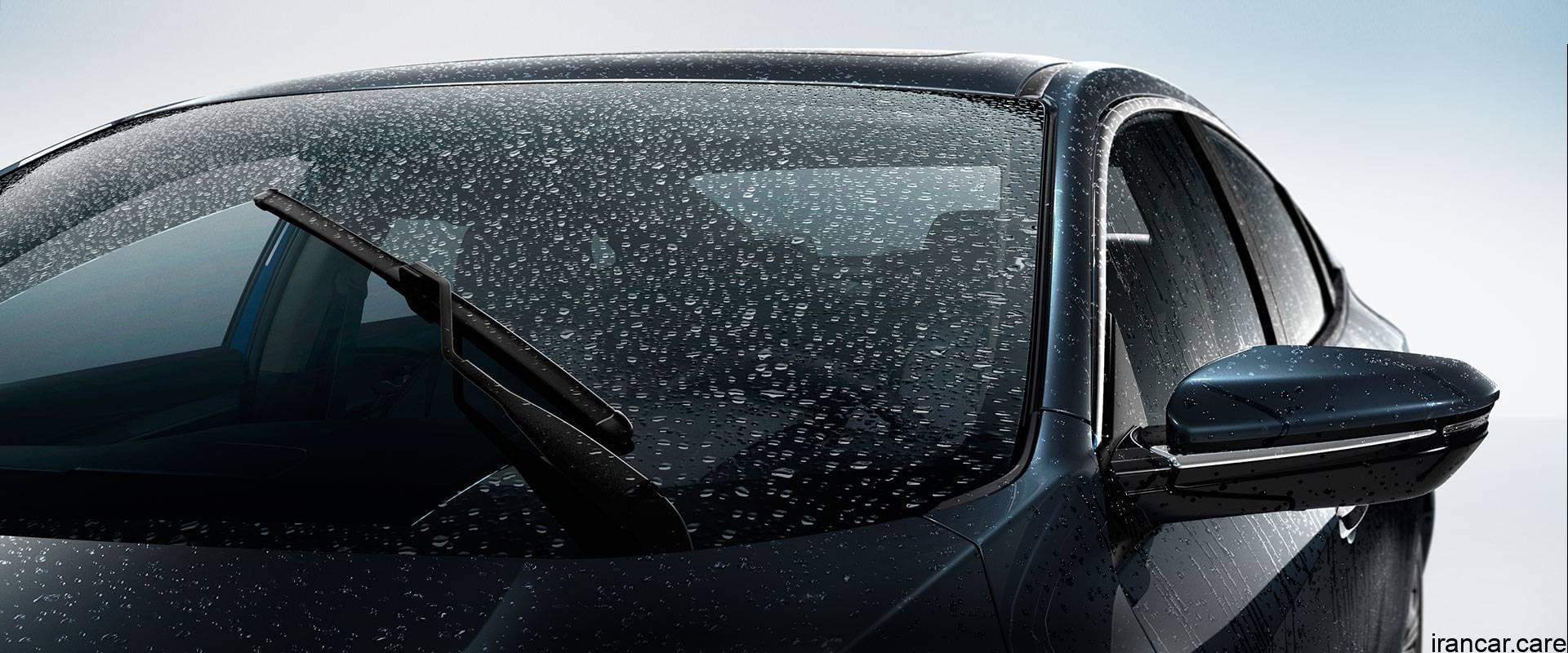rain sensing windshield wipers