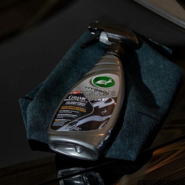 نانو سرامیک بدنه خودرو مشکی CERAMIC ACRYLIC BLACK CAR 4 اسپری نانو سرامیک بدنه خودرو مشکی Turtle Wax 53447 4