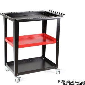 میز سه طبقه PDR کریپر Three-layer Creeper table